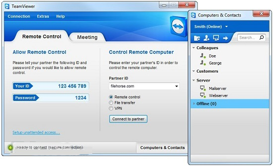 TeamViewer - Remote Access The All-In-One Solution 1