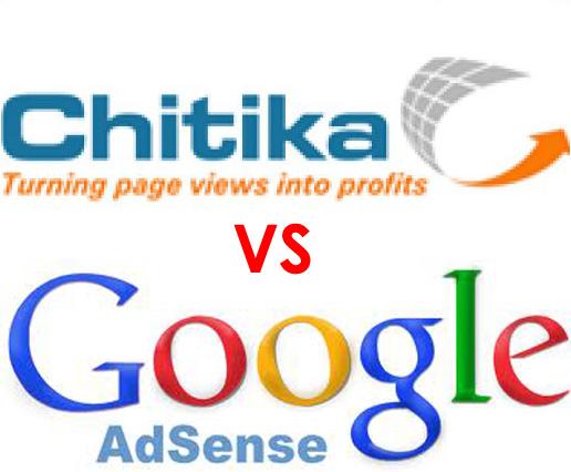 Google AdSense VS Chitika - Comparison