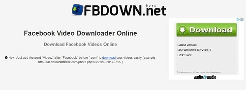 Facebook download