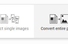 Google Chrome Extension for PDF to Image convertion