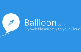 Save any Images and Files to Google Drive or Dropbox directly with Ballloon