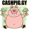 Make money with just clicks with Cashpig