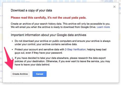 Personal Information collected by Google (6)