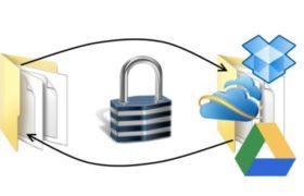 CryptSync: Automatically Syncs & Encrypts Personal Folders