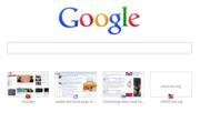 Get rid of Chrome's web history icons in new tabs