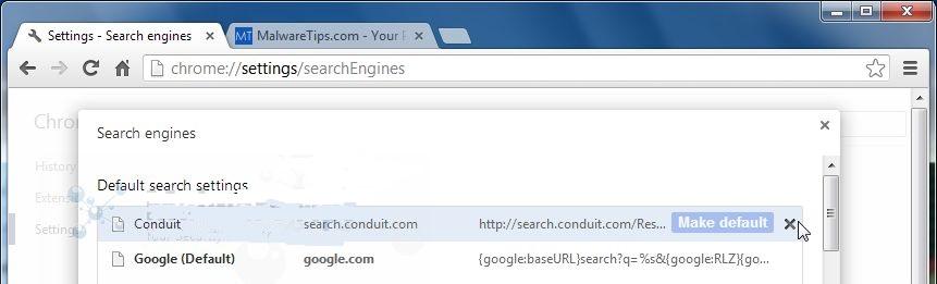 Conduit-Search-Chrome-removal