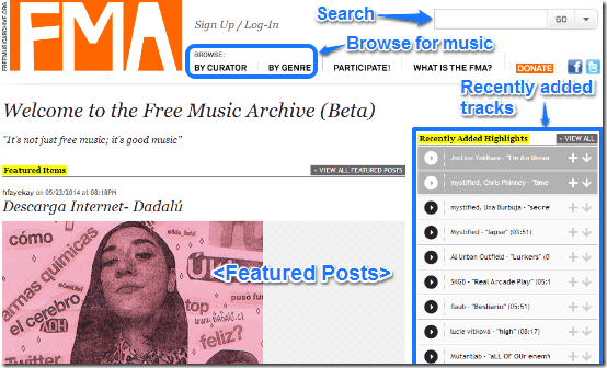Websites to Download Music (1)