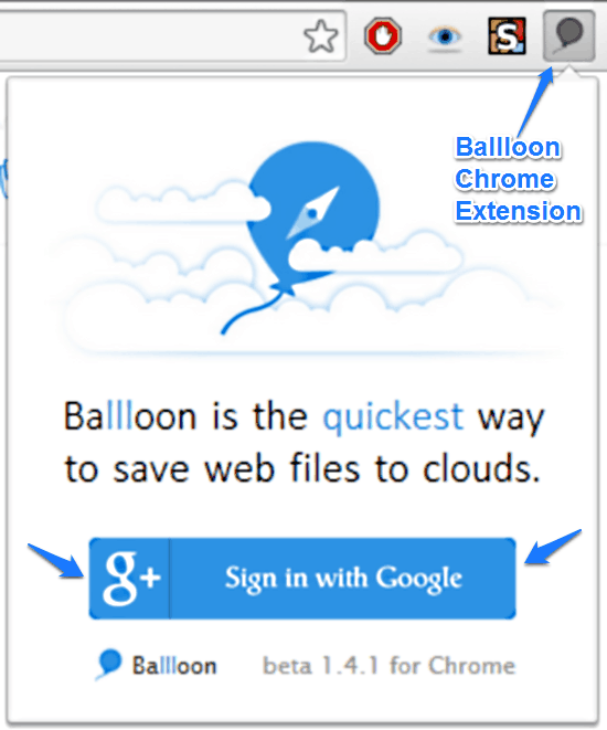 Save any Images and Files to Google Drive or Dropbox directly with Ballloon (2)