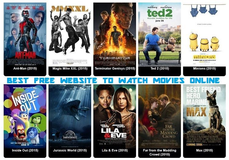 best sites to watch free movies online 2015
